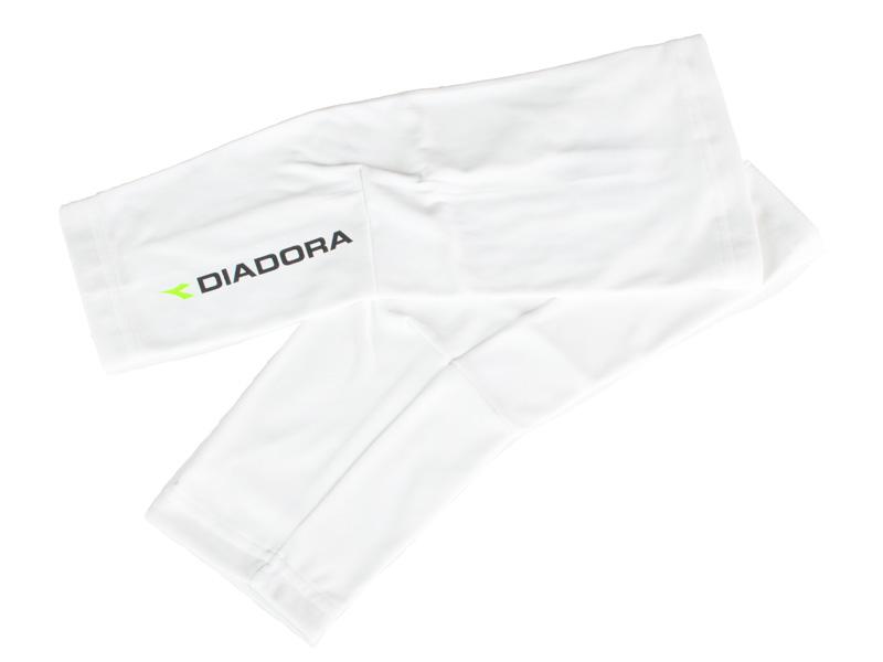 Diadora knævarmere hvid | Arm- og benvarmere