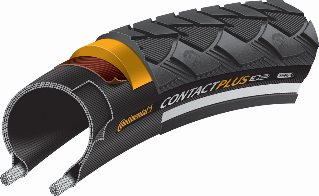 Continental Contact Plus 700x42 (42-622) Refleks | Tyres