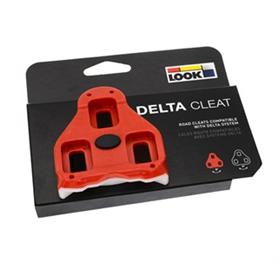 Look Delta klamper rød med 9 graders float | Klamper