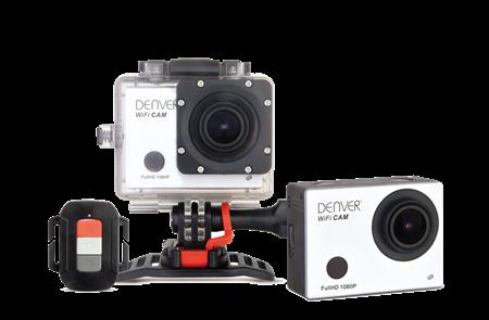 Denver ACT-5030W Wi-Fi Action Kamera med fjernbetjening