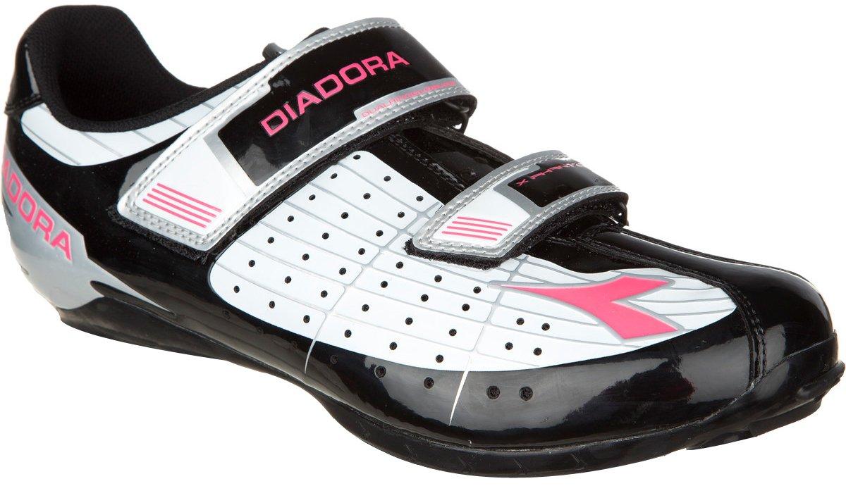 Diadora Phantom dame sort/hvid/pink | Sko