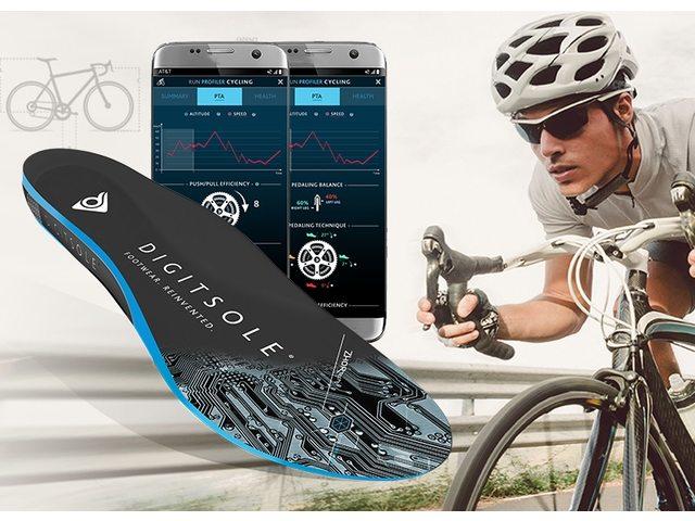 Digitsole smart sål til cykelsko | Sko