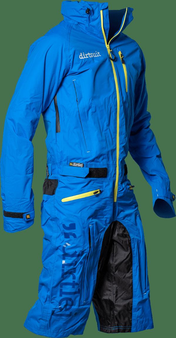 Dirtlej Dirtsuit Classic Edition heldragt med korte ben blå | Jakker