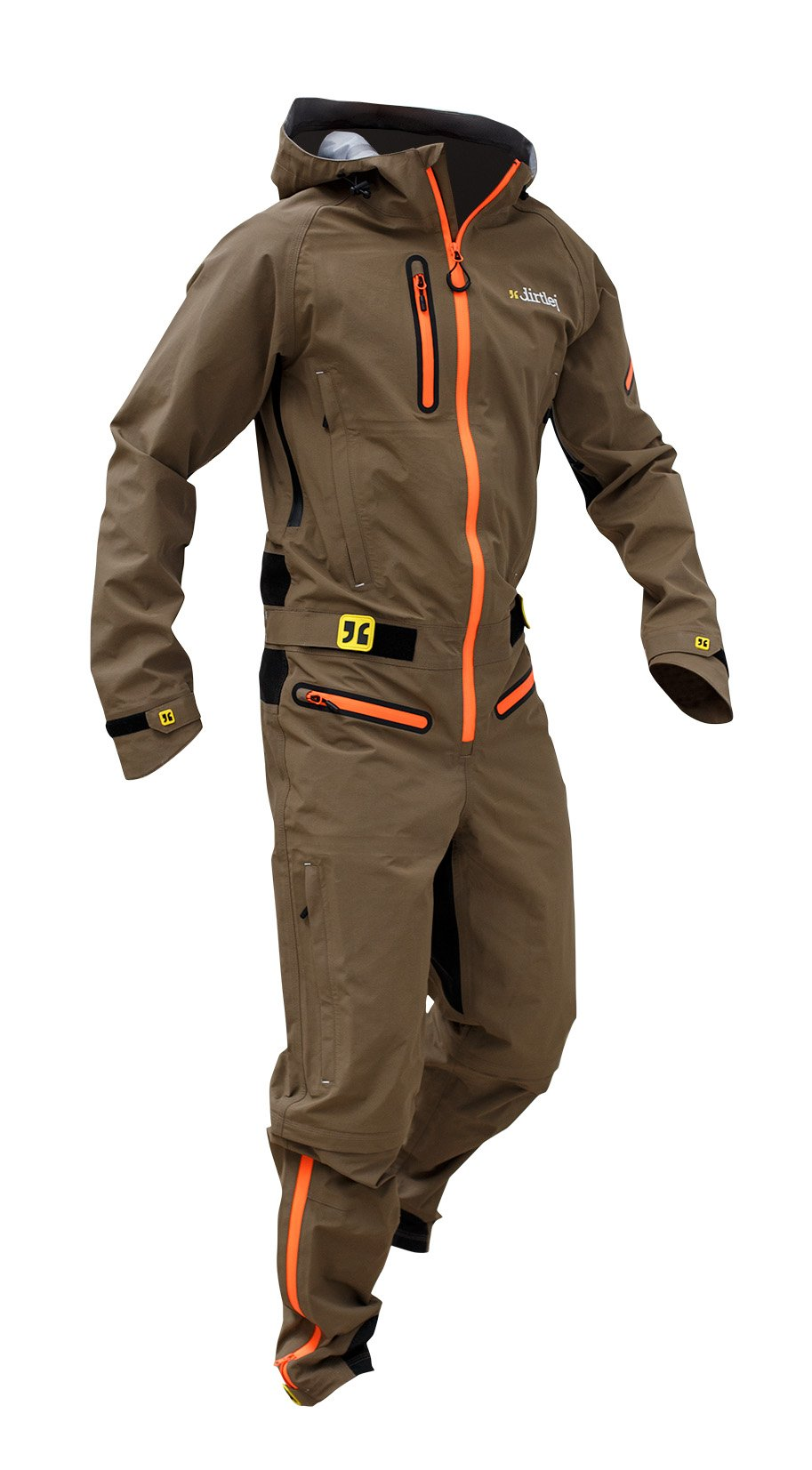 Dirtlej Dirtsuit Core Edition heldragt med lange ben sandfarvet | Jackets