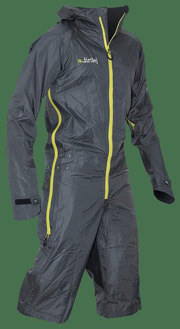 Dirtlej Dirtsuit Light Edition heldragt med korte ben Grå | Jackets