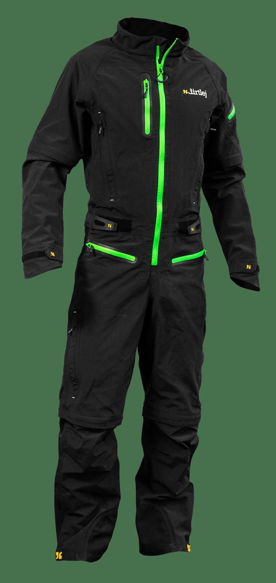 Dirtlej Dirtsuit SFD Edition heldragt med lange ben sort | item_misc