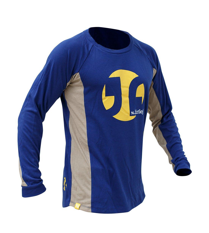 Dirtlej Mountee Warm trøje blå/sand | Jerseys