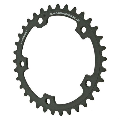 Campagnolo Super Record klinge 34t 110 mm 11 speed grå - 599,00 : Cykelgear.dk - Cykelgear.dk