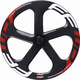 ffwd - 5 Spokes Track Forhjul Ceramic