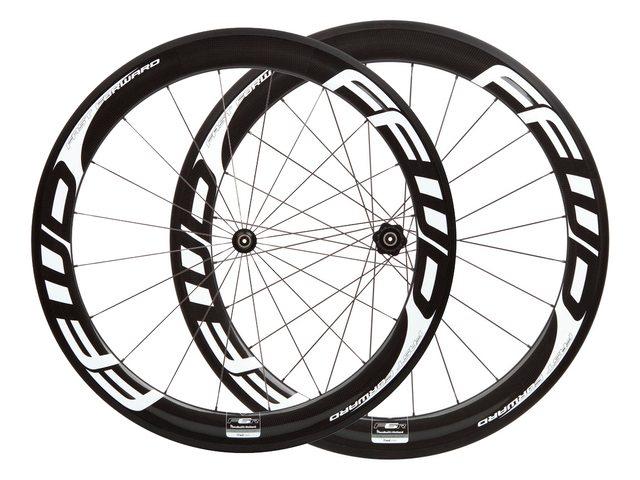 FFWD F6R Tubular Carbon hjulsæt sort/hvid