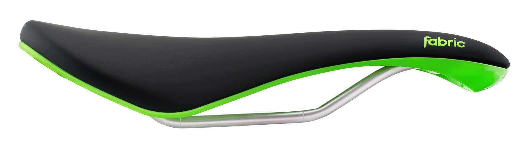 Fabric Scoop Radius Elite sadel sort/grøn | Sadler