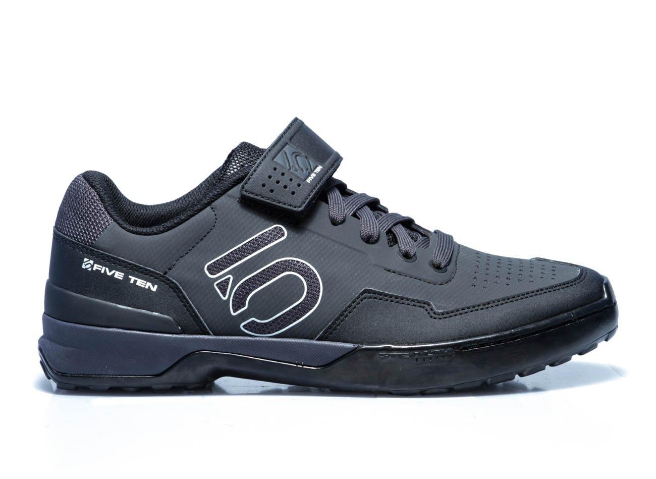 Five Ten Kestrel Lace cykelsko til klik pedaler sort/hvid | Shoes and overlays