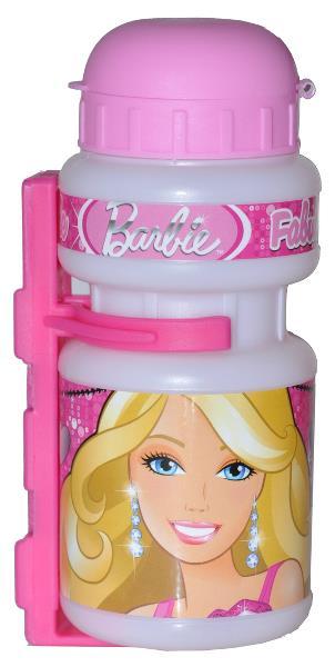 Barbie flaske og flaskeholder til børnecykler