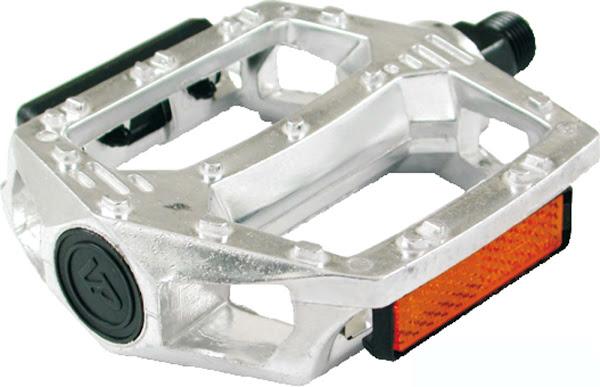 Flats Pedaler Sølv Aluminium MTB 1/2   Pedals
