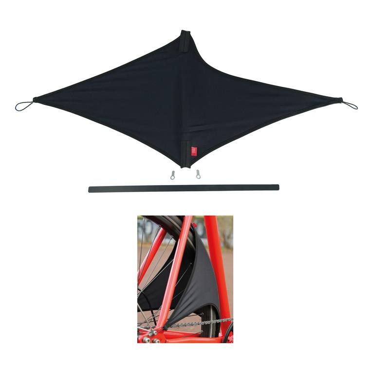 Fleksibel bagskærm i stof | Mudguards