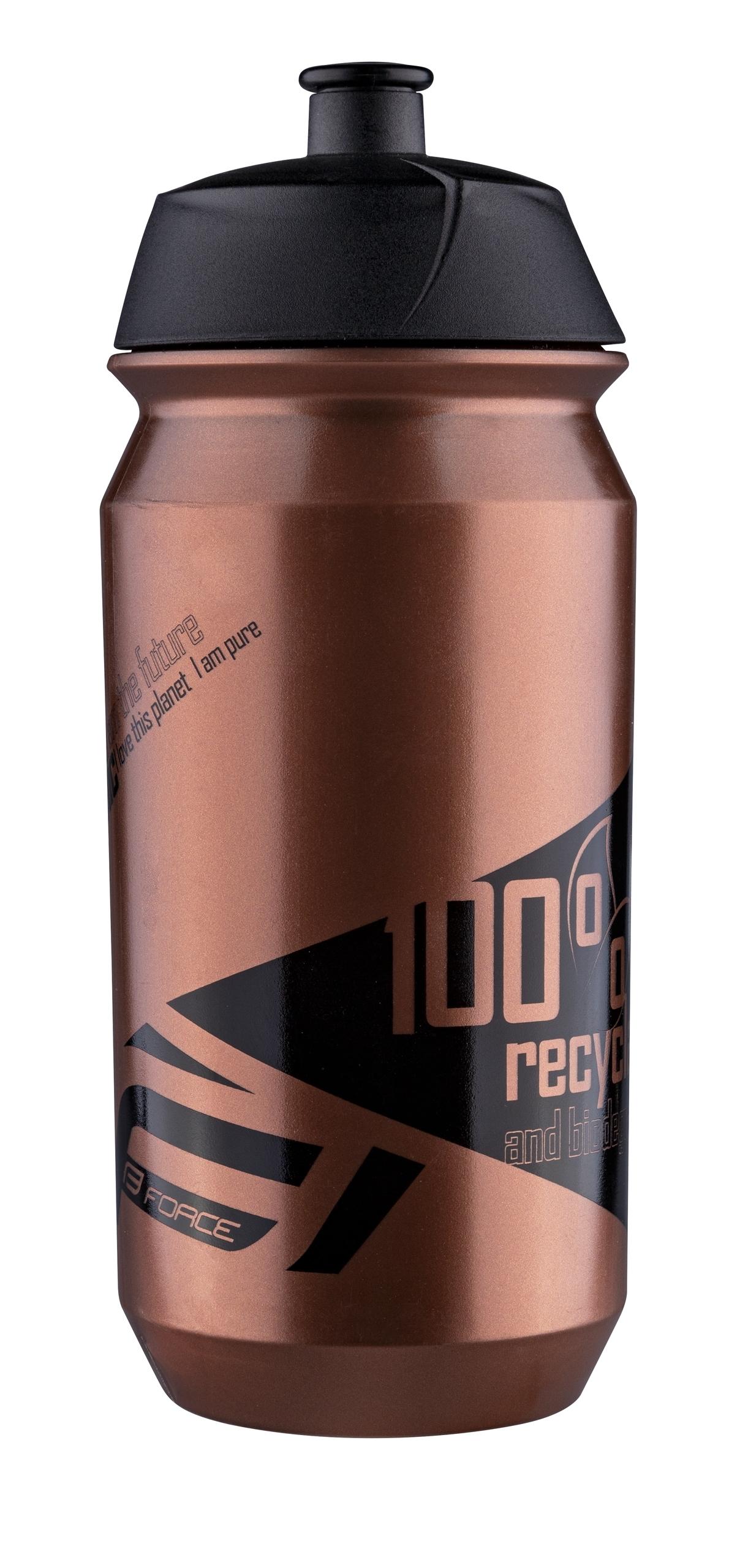 Force BIO Flaske 500ml Bronze/Sort