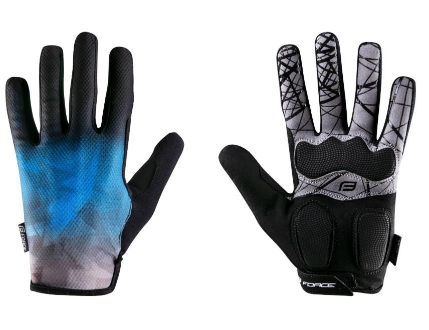 Force Core Sommer MTB-handsker - Blå