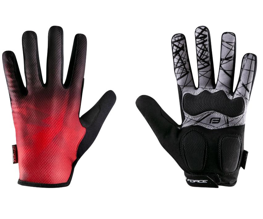 Force Core Sommer MTB-handsker - Rød