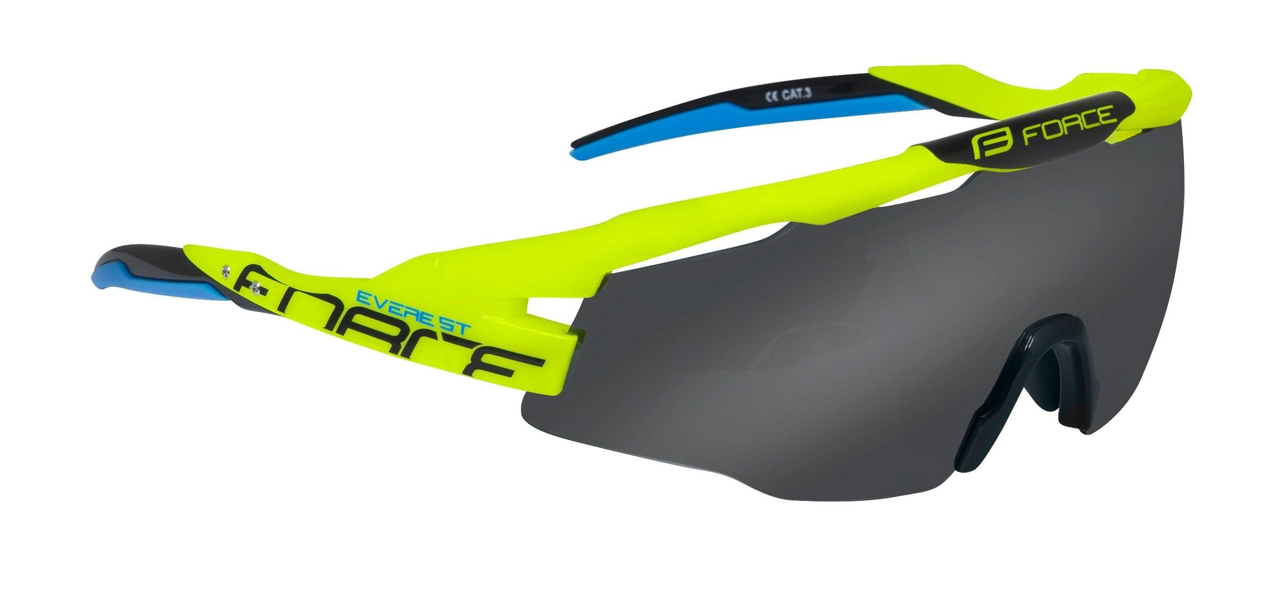 Force EVEREST Briller Gul/Neon | Briller