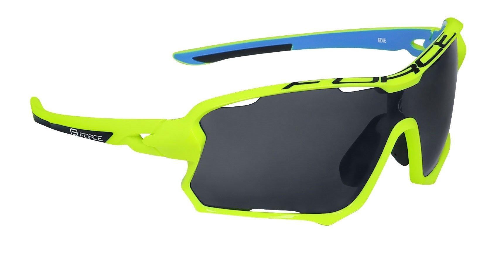 Force Edie Cykelbriller med 3 sæt linser Flou/blå | Glasses