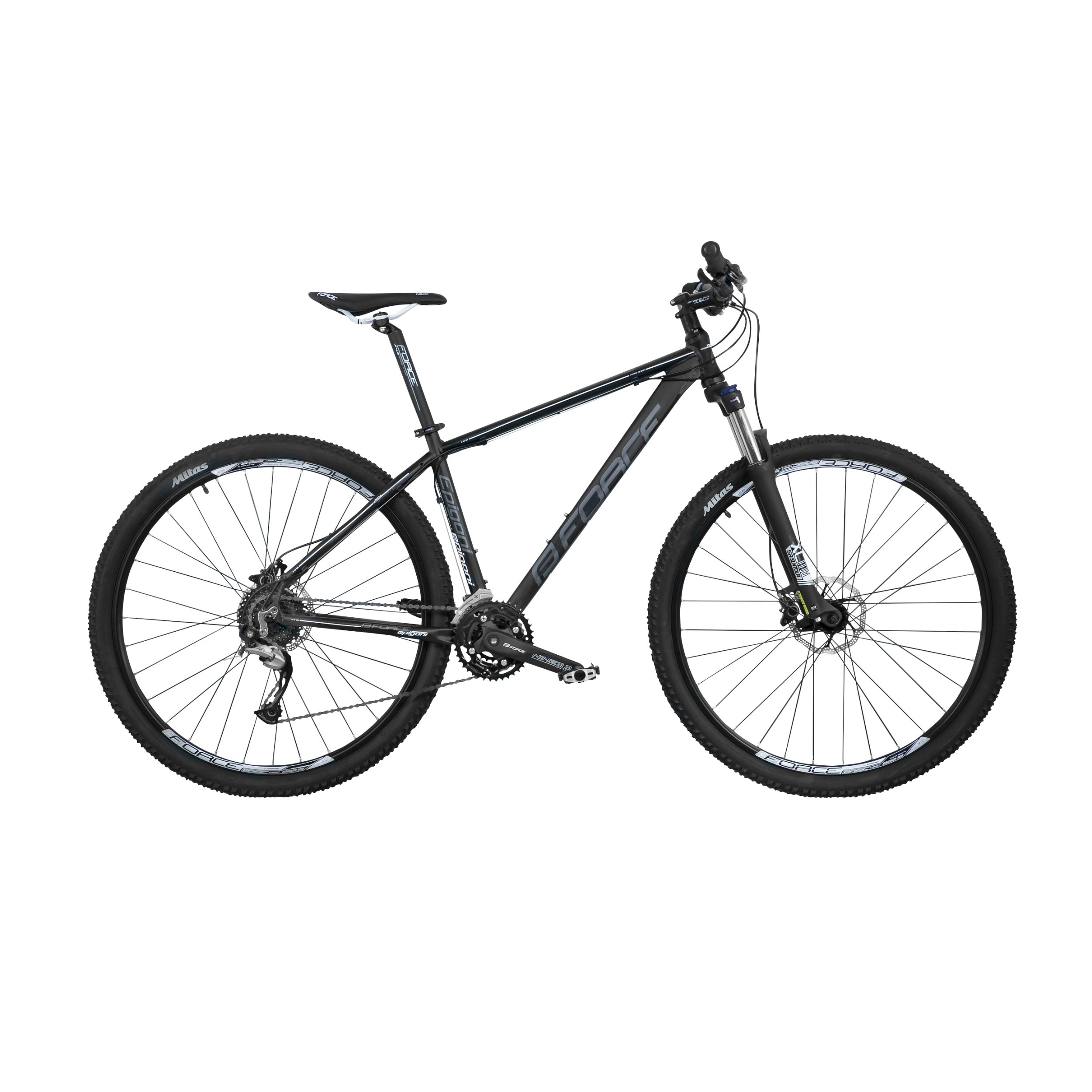 Force Epigoni 29 27gear - Sort/hvid | Mountainbikes