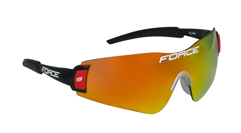 Force Flash Cykelbriller Sort Multilaser 22 gram | Glasses
