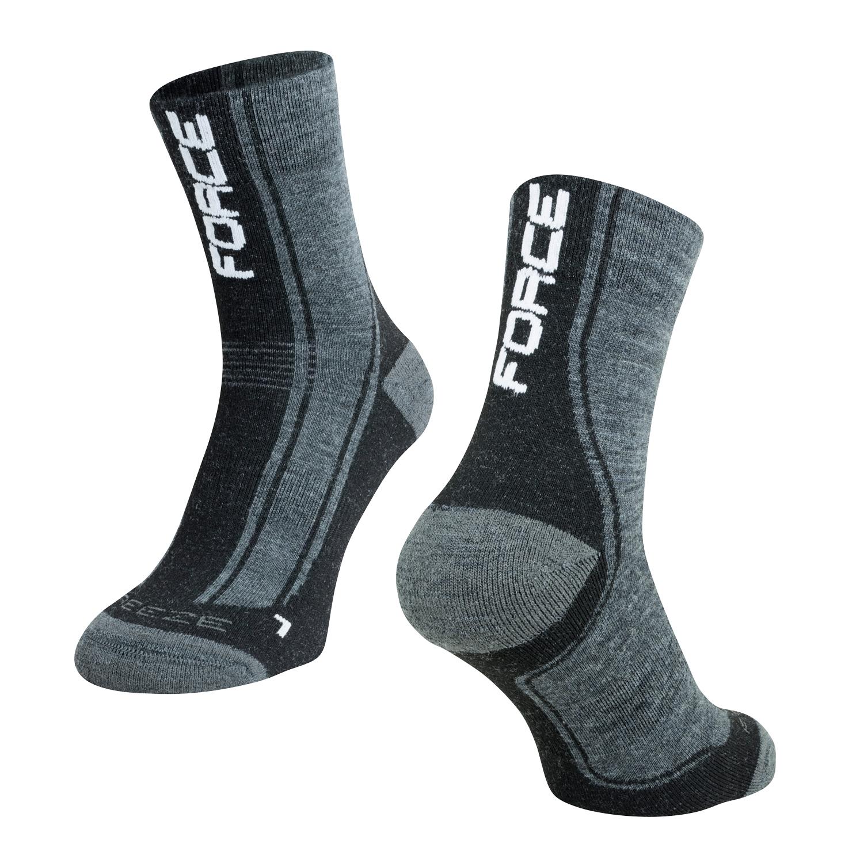 Force Freeze vinter sokker sort