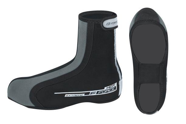 Force Hot Extreme Skoovertræk Sort   Shoe Covers
