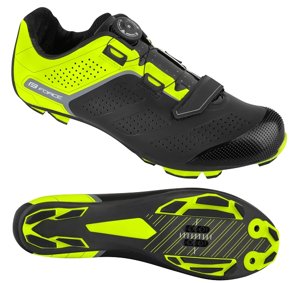Force MTB Carbon Devil Pro Gul   Shoes and overlays