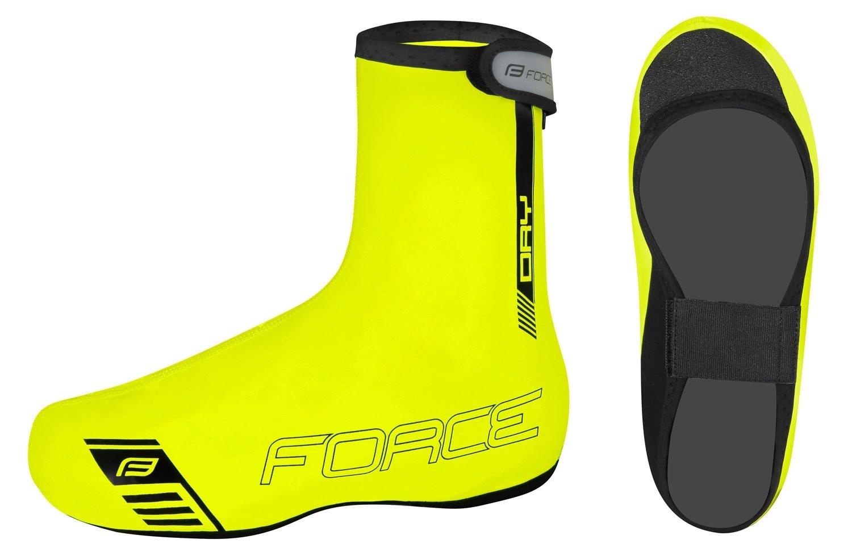 Force PU Dry Skovertræk til almindelige sko Fluo | Running shoes