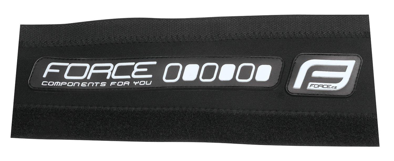 Force Rubber Stelbeskytter Neopren Sort/hvid | Misc. Mudguards
