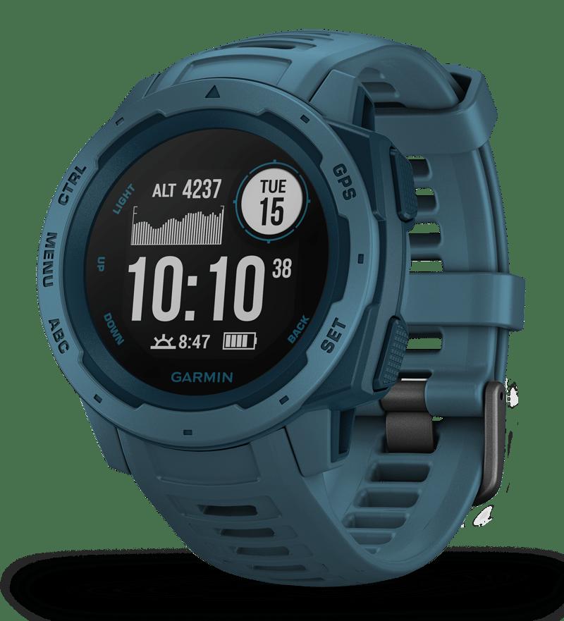 Garmin Instinct ur Lakeside Blå - 2.149,00   Sports watches