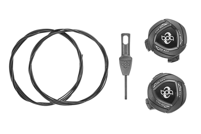 Giant BOA IP1-S Dial sæt med BOA spænder til cykelsko sort | Sko
