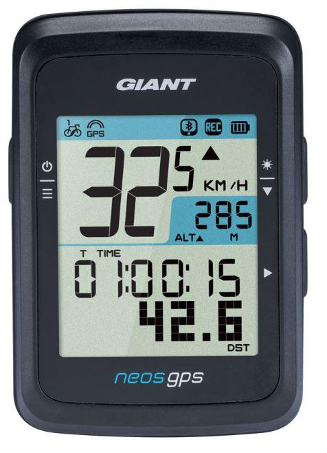Giant Neos GPS Cykelcomputer | Cykelcomputere