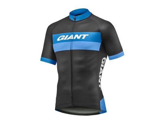 Giant Pursue cykeltrøje sort/blå | Trøjer