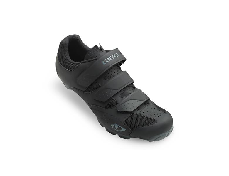 Giro Carbide R II MTB sko sort/blå | Shoes and overlays