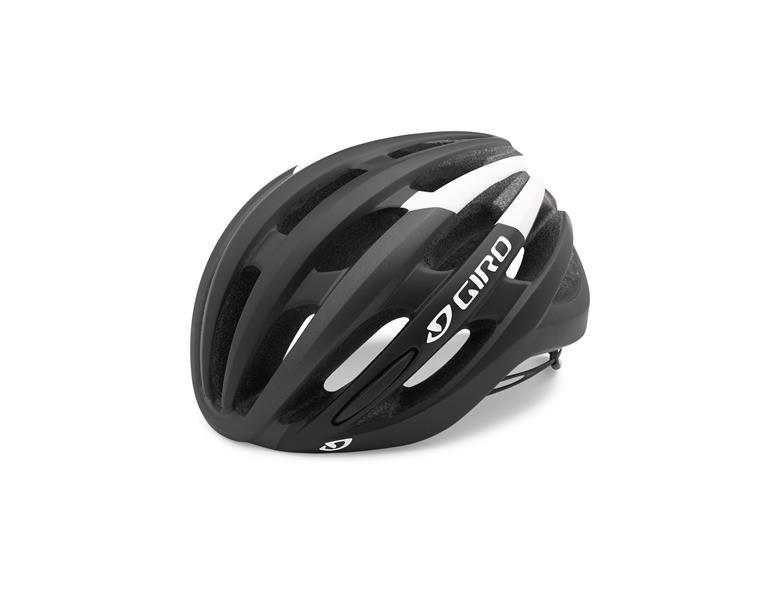 Giro Foray Cyklehjelm MIPS Mat Sort/hvid   Hjelme