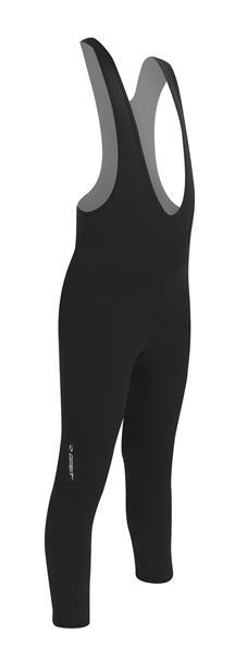 Gist lange bukser med indlæg og seler til børn, sort | Bukser