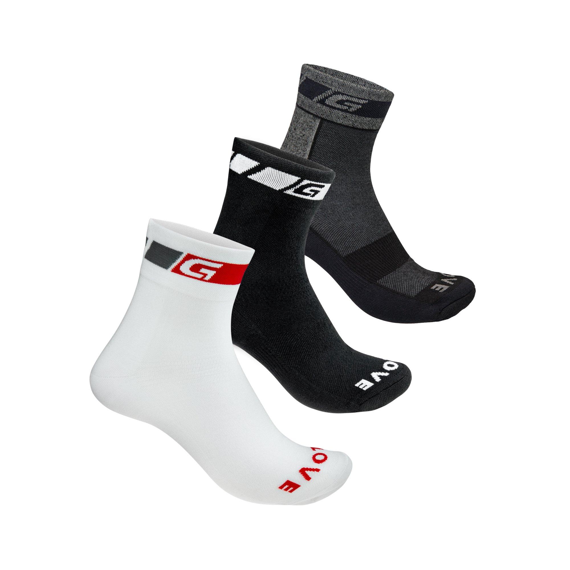 GripGrab 3pak strømper all season | Socks
