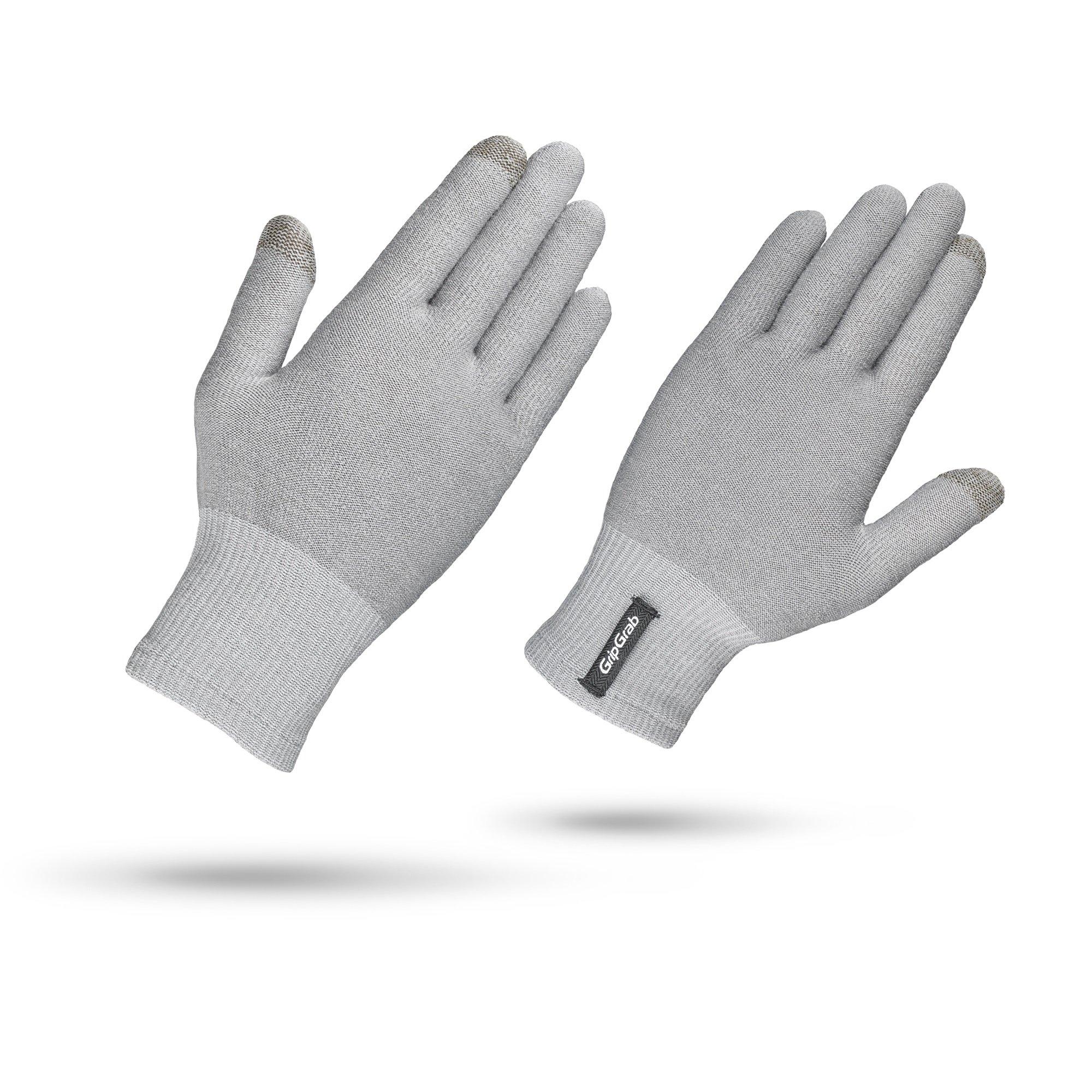 GripGrab Merino Liner handske grå Uden indpakning