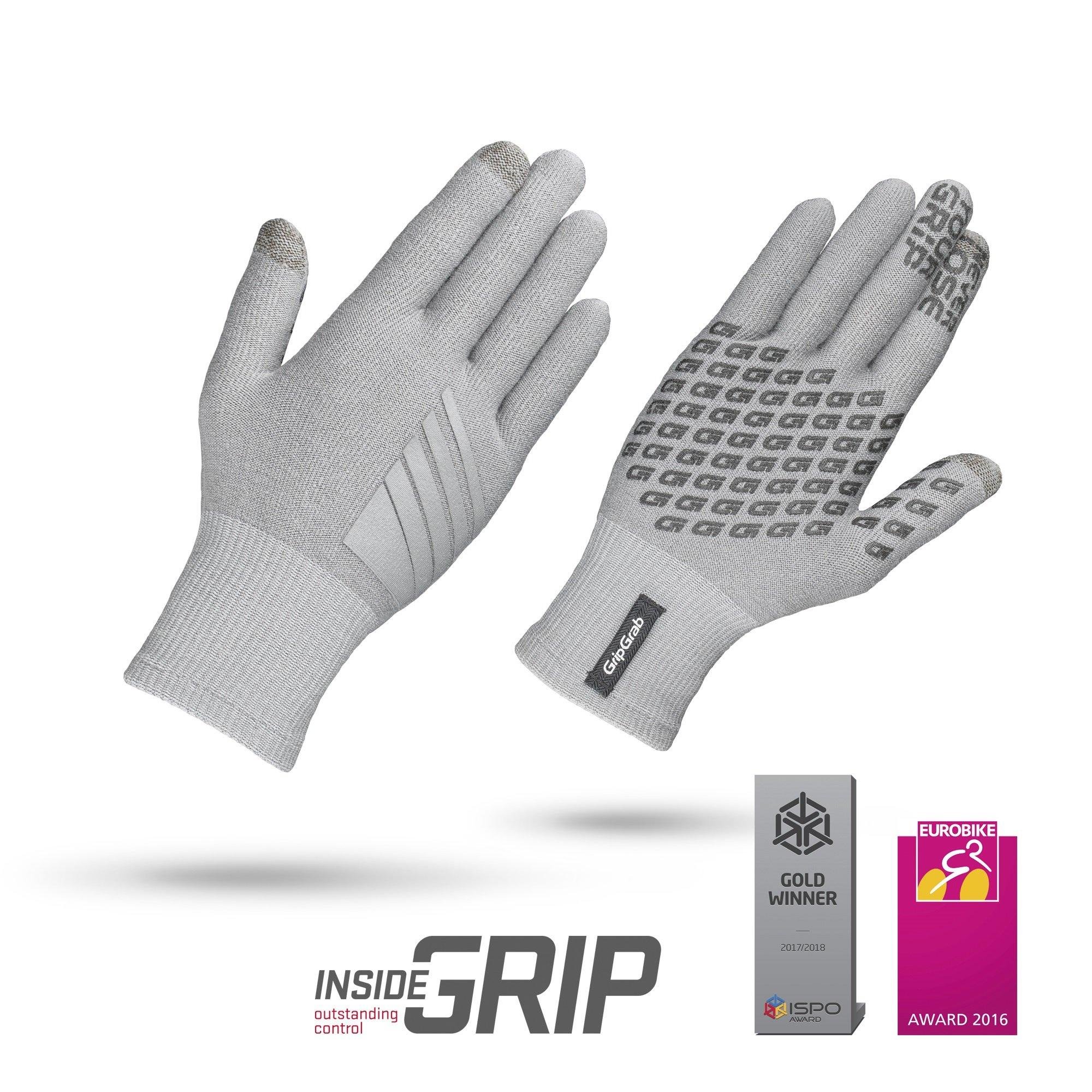 GripGrab Primavera Merino handske grå | Handsker