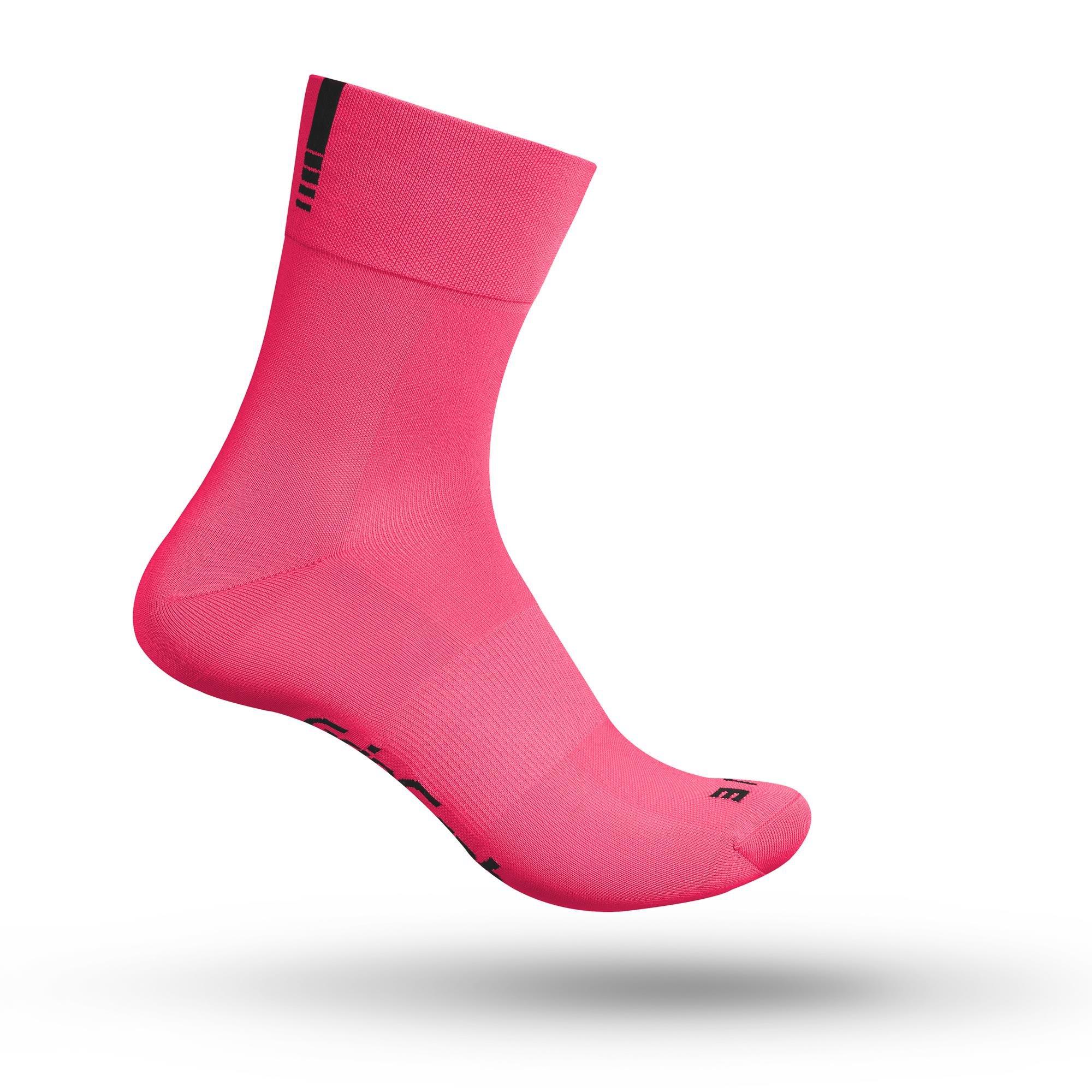GripGrab Lightweight SL Cykelstrømper (Hi-Vis) Pink | Socks