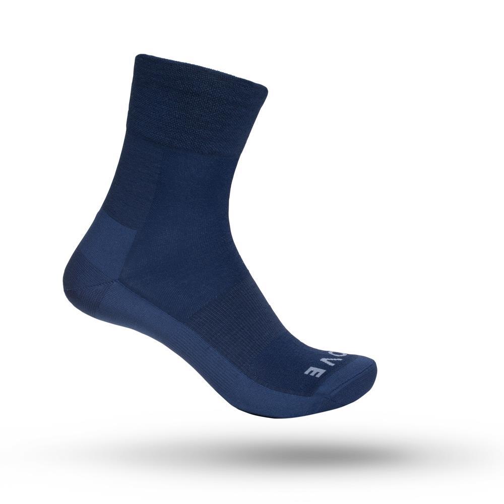 GripGrab Merino Lightweight SL strømper blå | Strømper