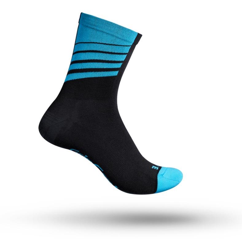 GripGrab Racing Stripes Sokker - Rød | Socks