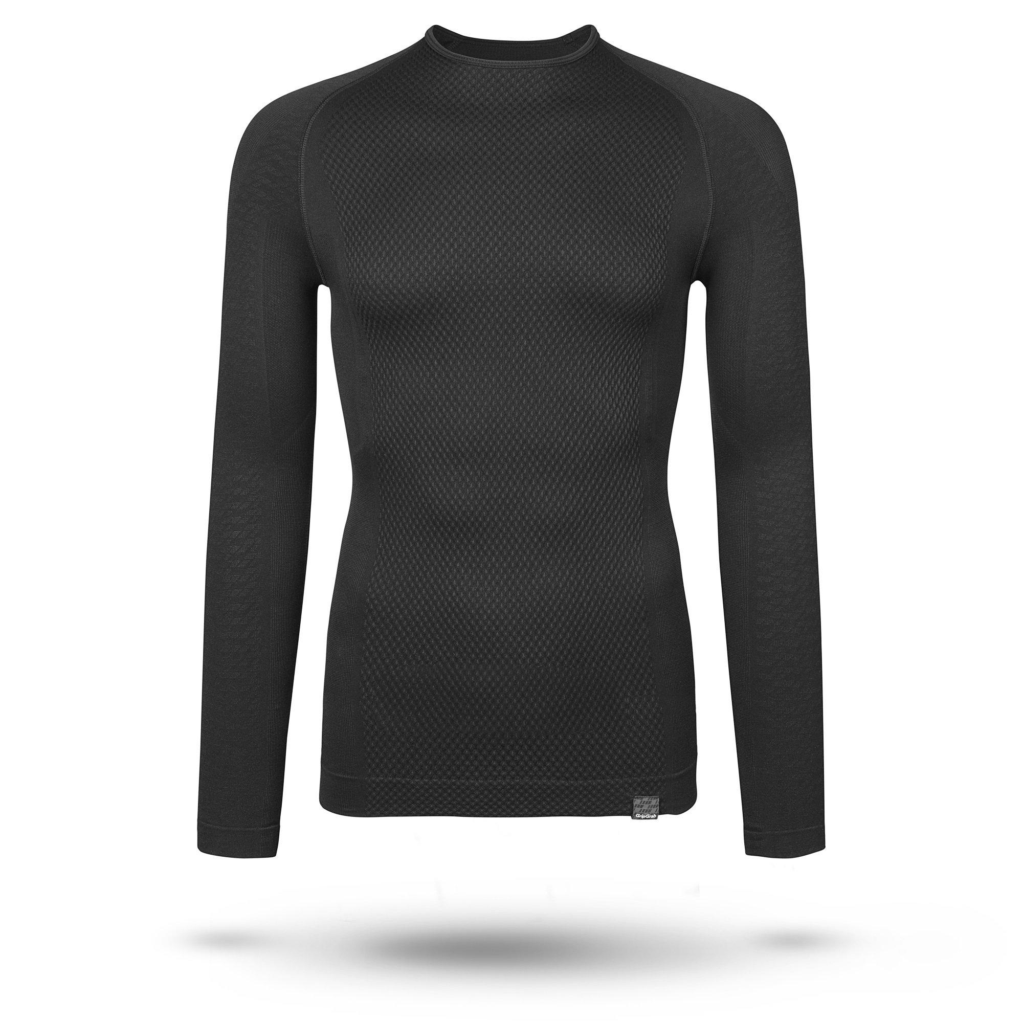 GripGrab Expert svedundertrøje med lange arme sort | Undertøj og svedtøj