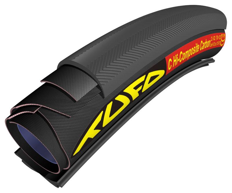 Tufo C Hi-Composite Carbon (HICC) Tubulardæk til alm. hjul 700x23c | Dæk