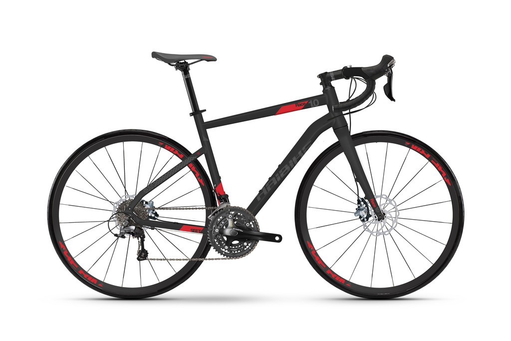 Race 1.0 28 24-Sp Claris sort/rød | Road bikes