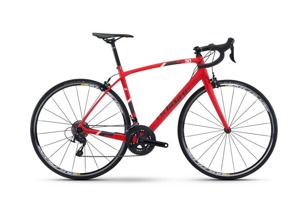 Haibike Affair 3.0 28 22-Sp 105 rød/sort/hvid | Road bikes