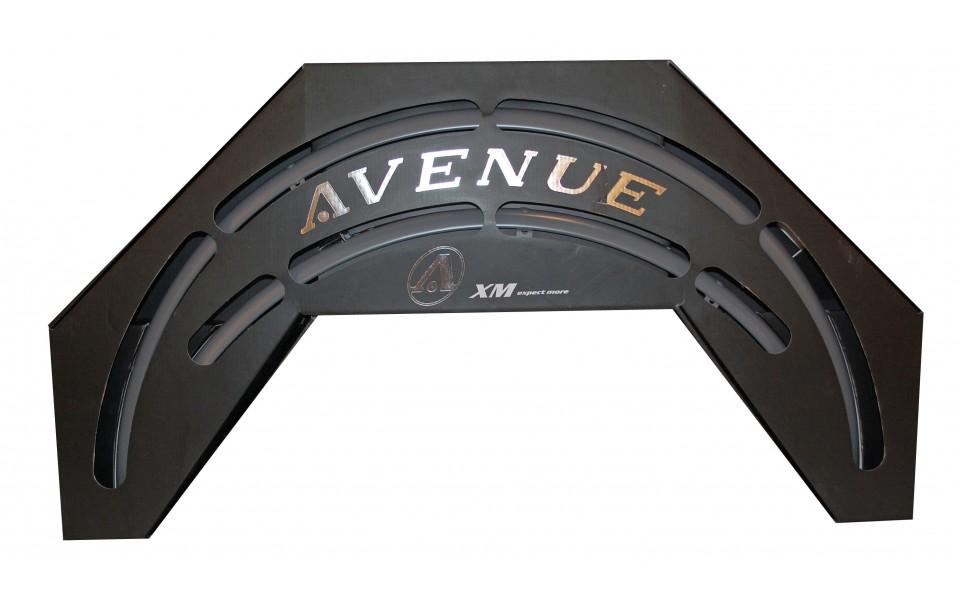 Avenue skærmsæt Grå (Hard Grey) 35 mm | Mudguards Set