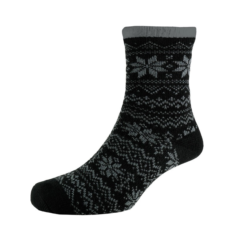 Heat2 Deluxe Cabin Socks Sort/grå | Strømper